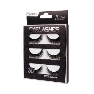 FAKE EYELASHES SET 3 PAIRS